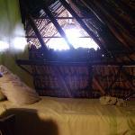 Loft area.  1 of 2 beds.  Lots of room. netting over window