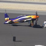 A plane with a $100,000 paint job called Rare Bear.