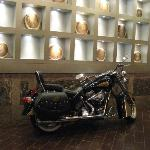 """Moto-cycle"" exhibit in Springfield. What a hotel! Great everything"