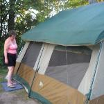 the tent at brimley