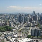 View from the top of the Space Needle.