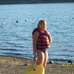 Shayleah at the lake.