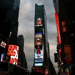 Bilde fra Times Square