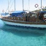 catamarano di una famigliola turca