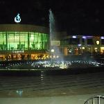 Fountain at soho square