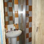 Ebusitana shower room - small but amazing
