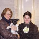 Lucy the owner and me and Lilly