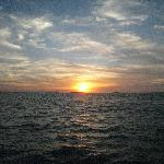 Sunset from the Silent Faith off of Key West