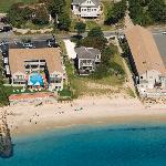 Oceanfront View of the Resort