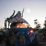Ursula float in parade