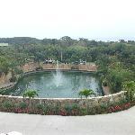 El Lago del hotel.