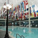 Indoor half of Mineral Pool