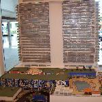 Maqueta en el lobby del Hotel Habana Libre