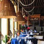 Inside of the restaurant