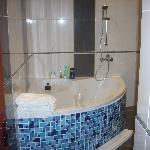 Salle de bains côté vasque