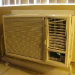 air conditioner falling apart