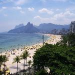Rio de Janeiro - Vista desde Arpoador hacia la Playa de Ipanema