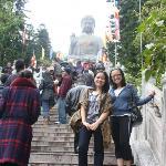 big buddha stairs