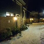 Des chambes sous la neige