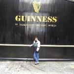 Me at the Guinness Brewery....Ummm BEER!