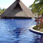 bar dans la piscine