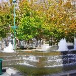 cool fountain outside of SFMOMA