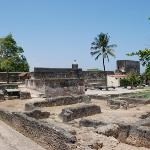 Ruins inside Fort Jesus