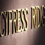 Cypress Ridge Sign