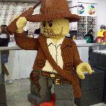 Indiana en Lego Store