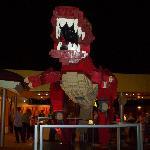Dinosaurio en Lego Store