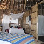Hut over the water 2nd bed/clothesline