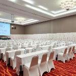 Bandung's largest ballroom at 1043 square meter with high ceiling, natural daylight and spacious
