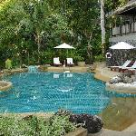 Tranquillity of the upper pool