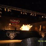 Soho stage performance