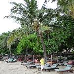 la plage du Mercure Sanur
