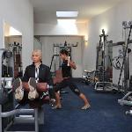 Roma Hotel fitness zone