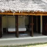 One of the very comfortable chalets