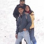on ski slopes in Narkanda