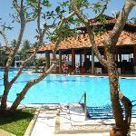 pool of srilanka Hotel Club Dolphin
