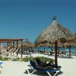 Partie de la plage