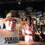 me and Paul at White Sands Bar