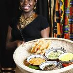 Our African Cuisine is served by our friendly staff