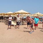 A game of Boules