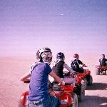 Quad Biking through the Dessert
