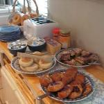 Parker Lusseau Pastries, Grocery Store English Muffins & Cypress Baking Company Bagels