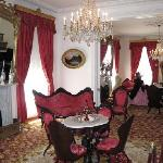 Double Parlor with Original Furniture