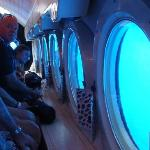 A submarine ride