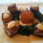 Pork Belly with burnt flavour