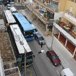 Parking is easy,you can get a bus through there!