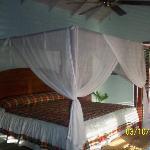 Inside villa
